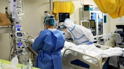 Covid: 110 finados, 1.320 contagiados y 3.000 hospitalizados