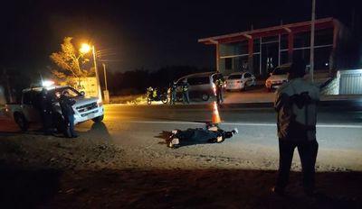 Transeúnte pierde la vida tras ser arrollado por un camión de gran porte
