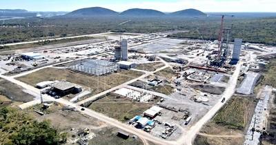 La Nación / Cecon avanza en obras en un 40% y prevé iniciar producción en el 2022