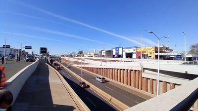 Multiviaducto inaugurado ordenará  tráfico de 100.000 vehículos por día