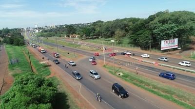 Multiviaducto de CDE: desvíos, retornos y semáforos provisorios quedarán inactivos desde este domingo