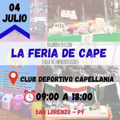 Feria de emprendedores en Capellanía