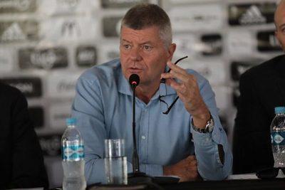 Brunotte explica la situación financiera del Olimpia