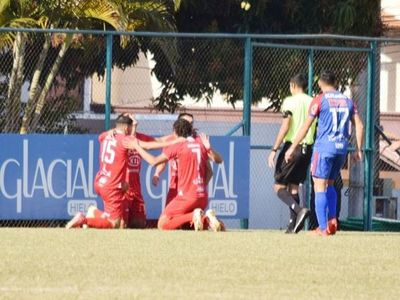 Independiente CG perdió 1-0 y el segundo puesto está en riesgo