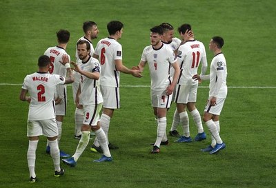 Inglaterra, favorita ante Ucrania en Roma