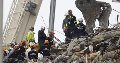 La Nación / Tragedia en Miami: recuperaron 2 cuerpos más y subió a 24 la cifra de víctimas fatales.