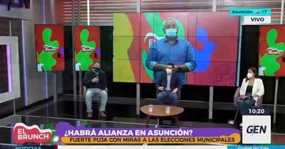 """La Nación / Opositores buscan consensos para la capital ventilando sus """"trapos sucios"""""""
