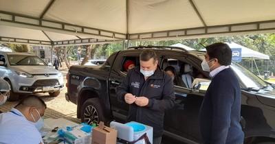 La Nación / Alto Paraná: base militar del km 8 y Costanera de Hernandarias serán vacunatorios