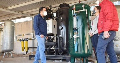 La Nación / El martes habilitarán la segunda planta de oxígeno y el tercer pabellón de contingencia en Villa Elisa