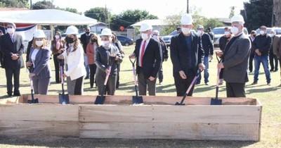 La Nación / Dieron palada inicial para la construcción del Juzgado de Primera Instancia de Naranjal