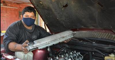Tiene la vocación de mecánico y busca reinsertarse a la sociedad