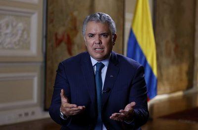 Duque inaugura una carretera construida por Sacyr en el norte de Colombia