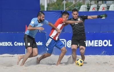 Fútbol de playa: Paraguay cae ante Uruguay en un emotivo partido