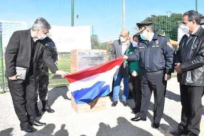 Inauguran espacio deportivo y recreativo en la UOTM _ Lince PY