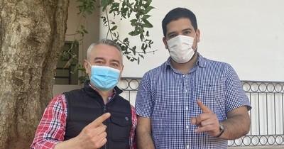 La Nación / Mauricio Espínola dijo que hay heridas que cicatrizar, pero apoyarán a la lista 1