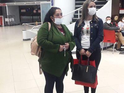 Madre y prima de Leidy Luna ya  viajaron a Miami