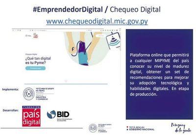 """Presentan """"chequeo digital"""" para emprendedores  y mipymes"""
