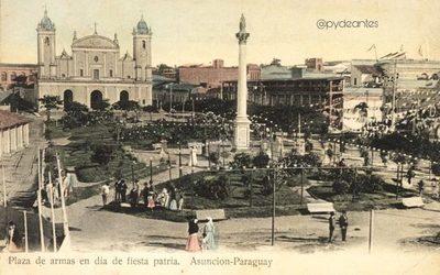Patrimonio: La antigua Plaza Mayor de Asunción y su entorno