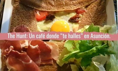 "The Hunt: un café donde te ""halles"" en Asunción"