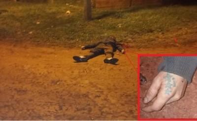 Hombre es asesinado y abandonado en el Km 8 Acaray