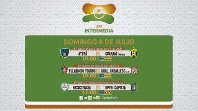 Tres juegos de Intermedia por la pantalla de Tigo Sports