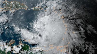La tormenta tropical Elsa pasó por Haití y se dirige a Cuba