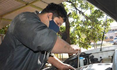 Tiene vocación de mecánico automotriz y busca reinsertarse a la sociedad