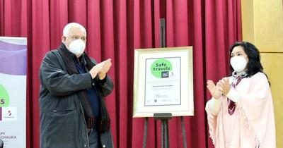 La Nación / Itapúa recibió la certificación Sello Safe Travels