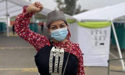 Lideresa del pueblo mapuche elegida como la presidenta de la Convención Constitucional de Chile