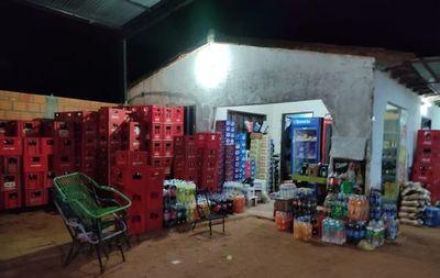 Asaltan distribuidora de bebidas y se llevan millonario botín
