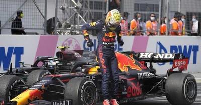 La Nación / Verstappen y su 3er. triunfo seguido