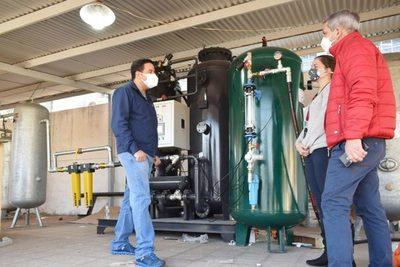 Villa Elisa: Inaugurarán segunda planta de oxígeno y tercer pabellón de contingencia