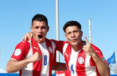 Paraguay clasifica a su quinto mundial de Fútbol de Playa