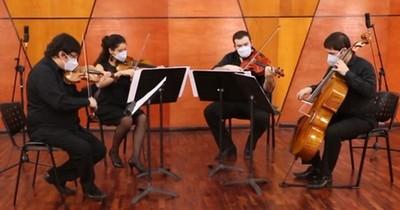 La Nación / Cuarteto de Cuerdas de FADA ofrece recital