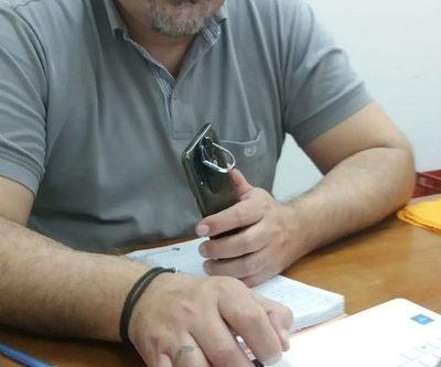 Iván Airaldi asegura que su candidatura no tiene vuelta atrás, a pesar de deserciones