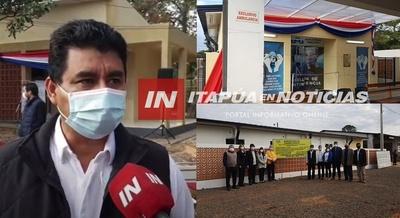 INAUGURAN PABELLÓN DE CONTINGENCIA Y DORMITORIOS PARA RESIDENTES EN CNEL. BOGADO