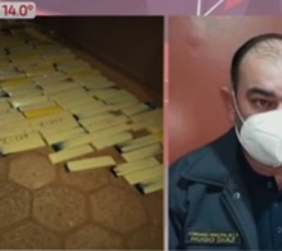 Decomisan 3 toneladas de marihuana tras persecución en PJC