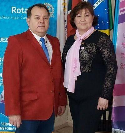 El Rotary Club de Ponta Pora-Pedro Juan Caballero renueva autoridades