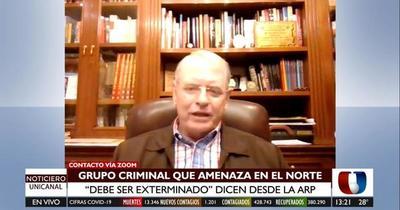 Crimen de Jorge Ríos: ARP exige exterminar a grupos criminales