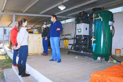 Intendente de Villa Elisa habilita mañana segunda planta de oxígeno y luego presentará renuncia