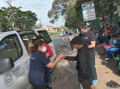 Más de 20 niños, niñas y adolescentes fueron derivados al refugio del Painac