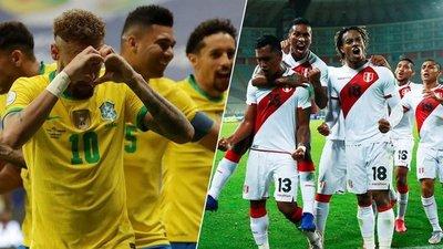 Copa América: Brasil y Perú abren las semifinales