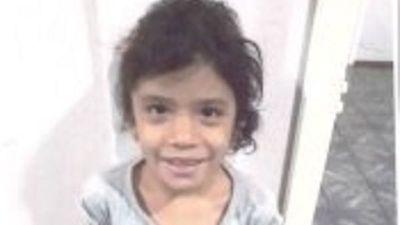 Buscan a la familia de Eliza, una niña encontrada en Brasil