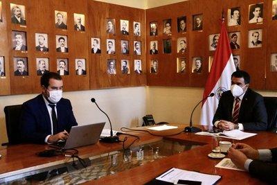 Paraguay felicita al colombiano Sergio Digra por su elección como presidente de la CAF