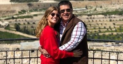 [VIDEO] Sol y Horacio Cartes celebraron juntos un día muy especial