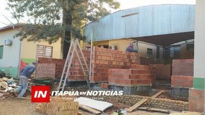 AVANZA SIN CONTRATIEMPOS LA CONSTRUCCIÓN DE SALA DE URGENCIA RESPIRATORIA EN EL HOSPITAL DE MA. AUXILIADORA.