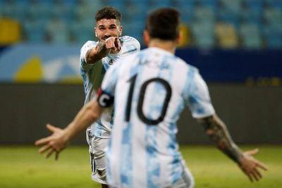 """Rodrigo De Paul: """"Messi está un paso por delante de todos nosotros"""""""