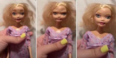 ¡Escalofriante! La muñeca aterradora que se hizo viral en TikTok