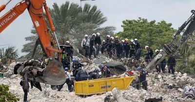 La Nación / Hallan otros tres cuerpos tras la demolición del resto del edificio