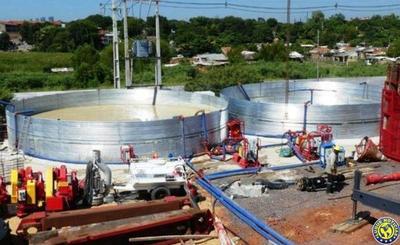 Avanza construcción de la planta de tratamiento cloacal de Asunción •